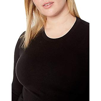 Brand - Daily Ritual Women's Plus Size Long-Sleeve Split-Hem Tunic, 1X...