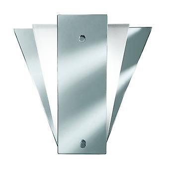 Searchlight - 1 Light Indoor Wall Light Mirror, E14