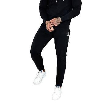 Gym King Mens Basis Lightweight Lounge  Jogger - Black-L