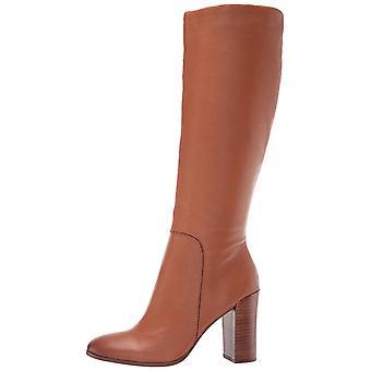 Kenneth Cole New York naisten Justin nahka Almond toe polvi korkea muoti saappaat