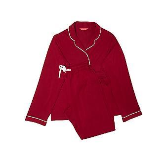 Minijammies Megan 5663 Girl's Red Revere Pyjama Set
