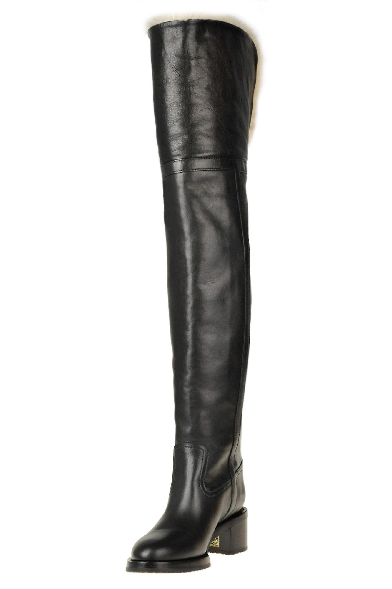 Céline Ezgl076054 Women's Black Leather Boots