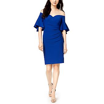 Calvin Klein | Ruched Off-The-Shoulder Dress