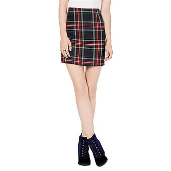 Love Fire | Tinseltown Plaid Mini Skirt