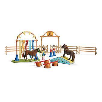 Schleich Farm World Pony Agility Training (42481) - Kids Toy
