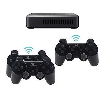 Wifi/wired Internet 4k-video-game Console For Ps/psp Retro Game Built-in 100 3- Games+2900 Games Support 4-player