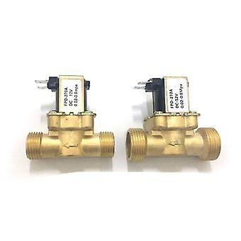 Brass Electric Solenoid Valve For Solar Boiler Valve (g3/4'' -g1/2'' )