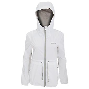 Bench Womens/Ladies Sporty Windbreaker Profitability Water Repellent Jacket With Contrast Details