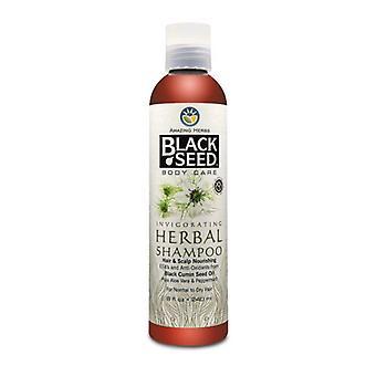 Amazing Herbs Black Seed Invigorating Herbal Shampoo, 8 oz