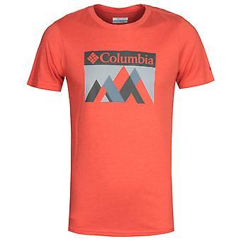 Columbia Alpine Way Red Graphic T-Shirt