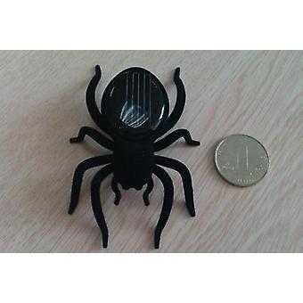 Simulering Svart Solar Leksak Spider, Roliga Djur Powered
