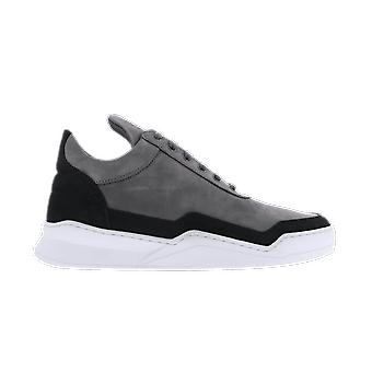 Filling Pieces Low Top Ghost Black 25222841786 shoe
