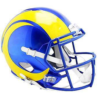 Riddell Speed Replica Jalkapallokypärä - Los Angeles Rams 2020