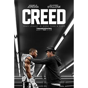 Creed Original Movie Poster Double Sided Advance