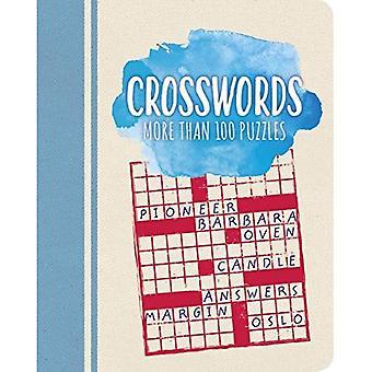 Crosswords: More Than 100 Puzzles (Color Cloud Puzzles)
