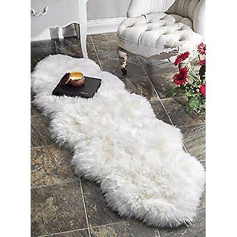 Double tapis en peau de mouton