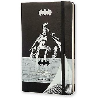 Moleskine Batman Limited Edition Hard Cover Plain Pocket Notebook 21x13x1.5cm