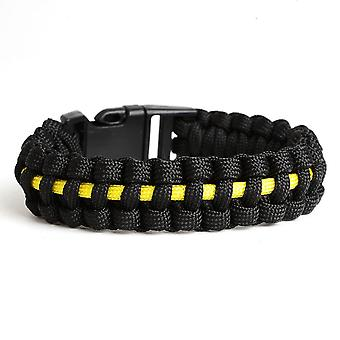 Outdoor Camping Line Braided Cobra Weave Plastic Buckle Paracord Survival