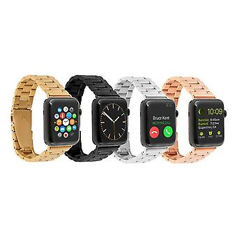 Cinturini Apple Watch - Cinturini in metallo, Nero, 42mm