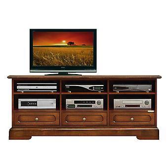 3-Compartment TV-door Cabinet 3 Drawers