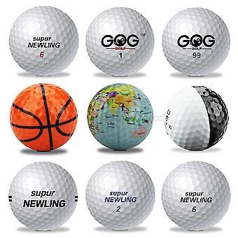 High Resilience Supur Newling Long Distance Golf Balls