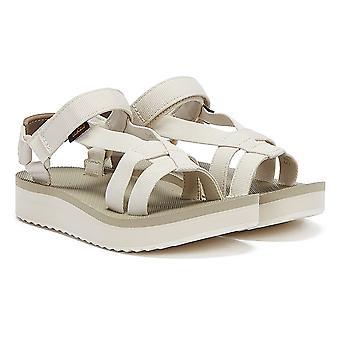 Teva Midform Arivaca Womens White Sandals
