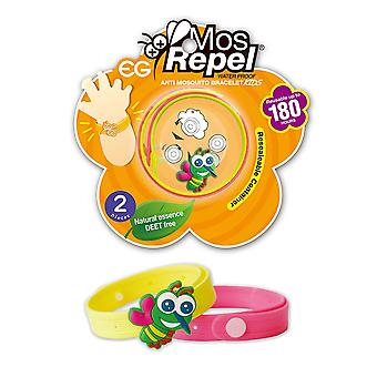 Mosrepel Anti Mosquito Kids  Bracelet 2pcs X 6