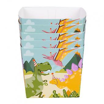 Party trays Dino Junior 40 Cl Cardboard 6 Pieces