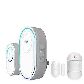 Système d'alarme de sonnette wifi