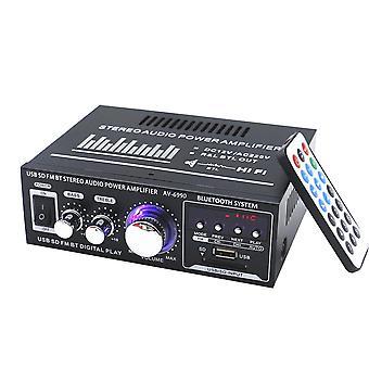 AV-699BT 400W 2CH bluetooth Domácí HiFi Stereo zesilovač napájení Podpora USB Paměťová karta FM Rádio 220V
