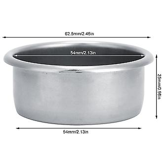 Single Layer Stainless Steel Coffee Bowl