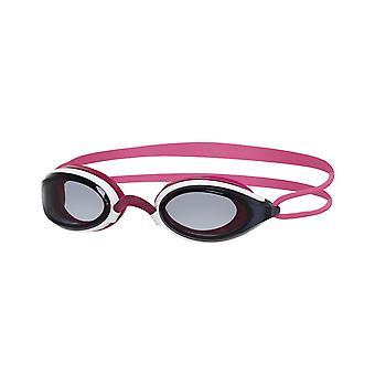 Zoggs Fusion Air Swim Goggle - Smoke Lens - Pink/White Frame