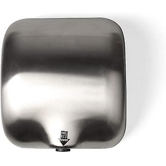 Goetland Stainless Steel Heavy Duty Commercial Hand Dryer 1800w Dull Polished
