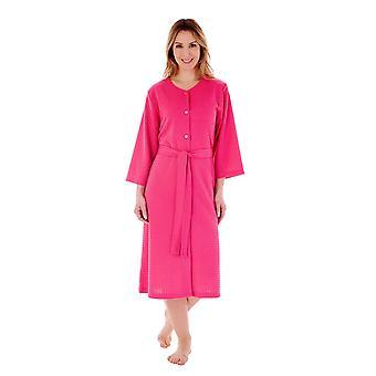 Slenderella HC3302 Women's Raspberry Dressing Gown