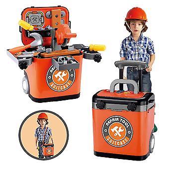 Kid Pretend työkalu laatikko laatikko-baari säilytyspussi tekninen rakenne
