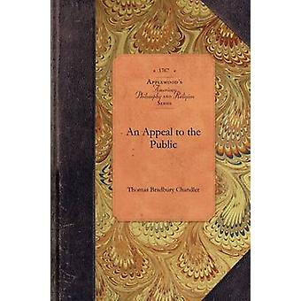 An Appeal to the Public by Thomas Chandler - 9781429018210 Book