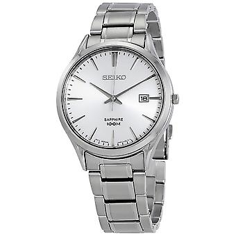 Seiko Neo Classic Silver Dial Stainless Steel Men's Watch SGEG93