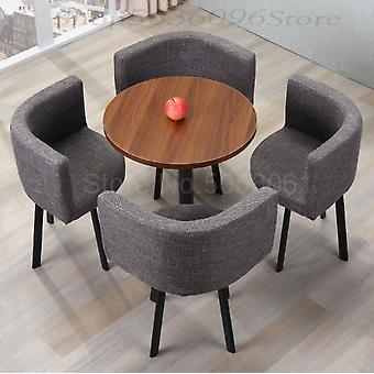 Jednoduchá kombinace vyjednávání Recepce Volnočasový stůl a židle