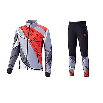 Skiing Softshell Warm Up Suit