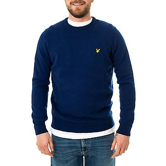 Pull homme lyle & scott crew neck lambswool blend jumper kn921vf.w157