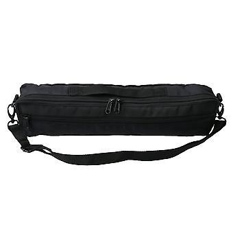 Adjustable Shoulder Strap Flute Case Carrying Bag Durable 13x6x41cm