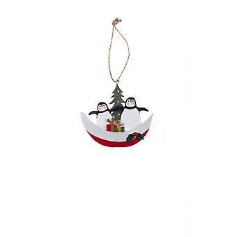 Shoeless Joe Penguin Christmas Decoration