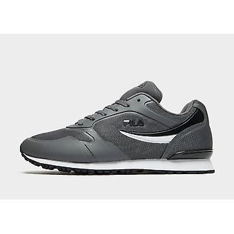 New Fila Forerunner Men's Lace Up Comfort Casual Trainers - Grey, Black or White
