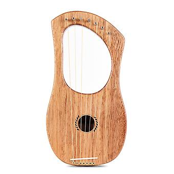 7-String lyre harp ancient style lyres terminalia wood string instrument