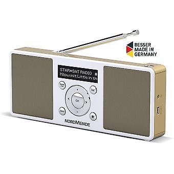 FengChun Nordmende Transita 200 tragbares Stereo DAB Radio (DAB+, UKW, FM, Lautsprecher,