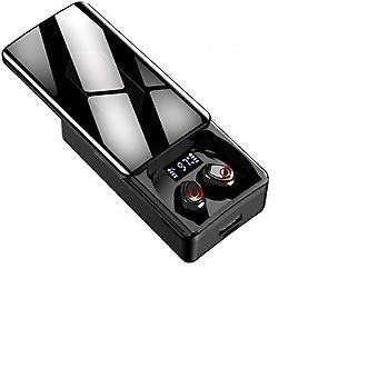 Tws bluetooth 5.1 bezprzewodowe podwójne słuchawki mikrofonowe z 10000mah etui do ładowania