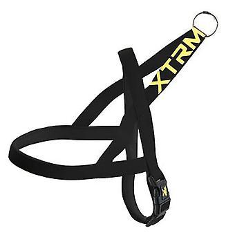 Nayeco Harness X-TRM Neon Flash Black Size S (Honden , Halsbanden en Riemen , Tuigjes)