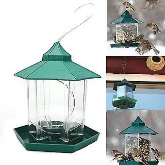 Vogelfutterspender,Futterautomat zum Hängen,Vogelfutterhaus,Vogelfutterstation,Papageifutterautomat