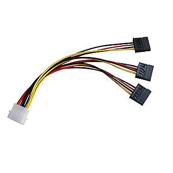 4 Nastan Ide Molex 3 sarja-Ata Sata Power Splitter jatkojohto