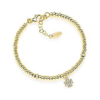 Amen angelo cristalli gouden armband poag